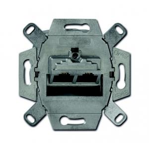 Rutenbeck Datenanschlussdose 138104070 Cat6 flex 2xRJ45s Unterputz
