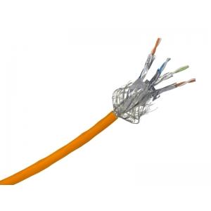 Elmat Datenkabel simplex Cat. 7A 1500MHz 4x2xAWG22 orange Meterware
