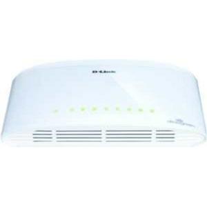 D-Link Switch unmanaged luefterlos Green 8x10/100/1000T DGS-1008DE