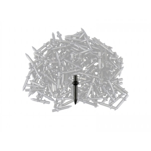 Don Quichotte Einschlagbolzen 7,90 mm Kragen, 18mm, 200 Stück