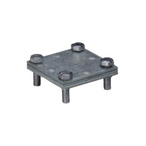 Kreuzverbinder Flach/Flach 1 Stück