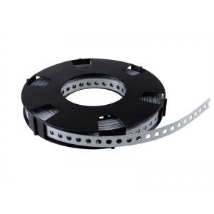 Montagelochband verzinkt 17 mm, 10 Meter