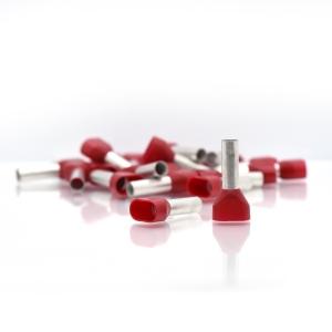 Doppel-Aderendhülsen 2x1,0mm² 8mm 100 Stück