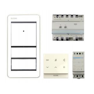 Elcom HOME AudioSet REP111Y 1Teilnehmer AP 2Draht weiß