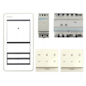 Elcom HOME AudioSet REP112Y 2Teilnehmer AP 2Draht weiß