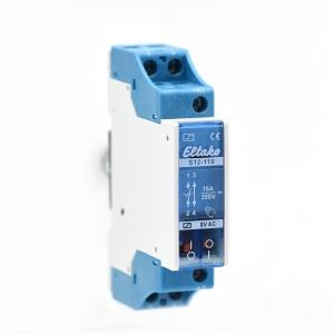 Eltako Elektromechanischer Stromstoßschalter S12-110-8V