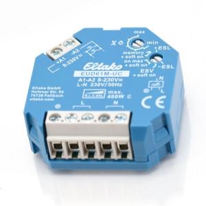 Eltako Stromstoß-Dimmschalter EUD61M-8-230VUC
