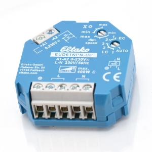 Eltako Stromstoß-Dimmschalter EUD61NPN-8-230VUC