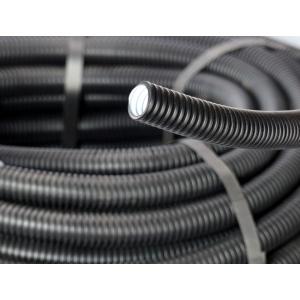 UNI Rohrsysteme Leerrohr/ Wellrohr/ Isolierrohr flexibel schwarz 50m DN32