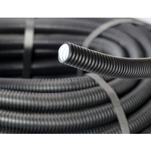 Leerrohr/ Wellrohr/ Isolierrohr flexibel schwarz 25m DN40