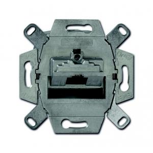 Busch-Jaeger Netzwerk-/UAE-Anschlussdose 0218/11-101 Kat. 6 1fach
