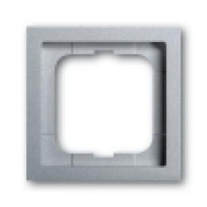 Busch-Jaeger Rahmen 1721-183K  1fach alusilber