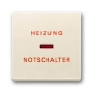 Busch-Jaeger Wippe 1789 H-82 Symbol Heizungsnotschalter