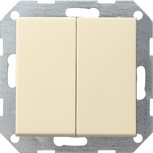 Gira Tastschalter Serien 012501 System 55 cremeweiss (012501)