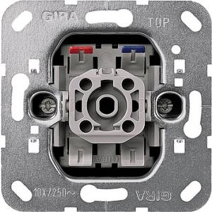 Gira Wipptaster 015000 Einsatz N-klemme (015000) + Glimmlampenelement