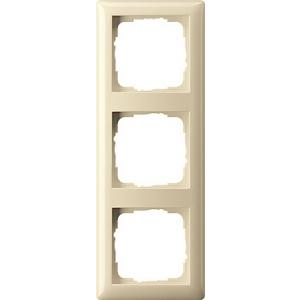 Gira Rahmen 021301 3fach Standard 55 cremeweiss (021301)