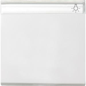Gira Wippe 029903 System 55 reinweiss glänzend (029903) mit Lichtsymbol