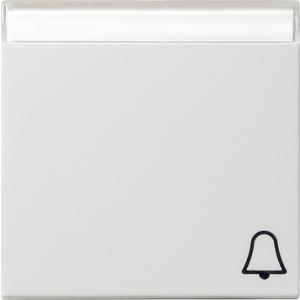 Gira Wippe 067303 Symbol Klingel reinweiss glänzend (067303)