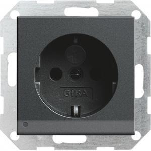 Gira Steckdose Schuko 117028 System 55 anthrazit
