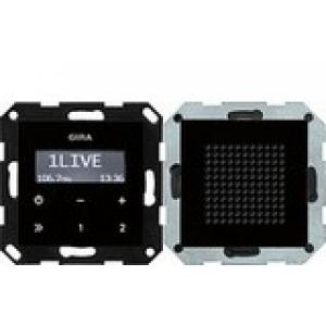 Gira UP-Radio 228005 RDS System 55 schwarzglasoptik (228005)