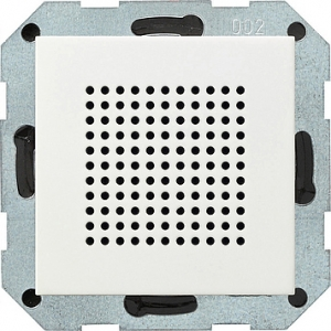 Gira Lautsprecher 228203 UP-Radio System 55 reinweiss  glänzend (228203)