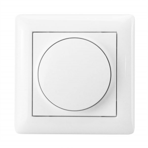 Drehdimmer-Set Gira System 55 mit alternativem LED-Drehdimmer