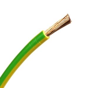 H07V-K 1x25 grün/gelb 1m PVC-Aderleitung