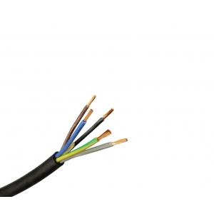 Gummischlauchleitung H07RN-F 5G1,5 TR1m schwarz