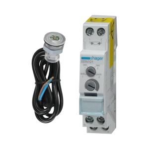 Hager Dämmerungsschalter EEN101 mit Einbaufühler EEN002