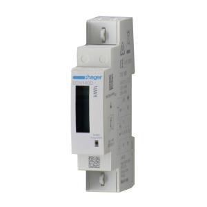 Hager Energiezähler ECN140D 1phasig direkt 40A 1M