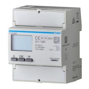 Hager ECP380D Energiezähler 3phasig