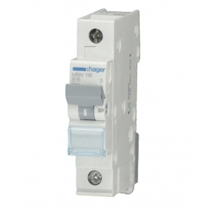 Hager LS Automat MCN103 1 polig C3A