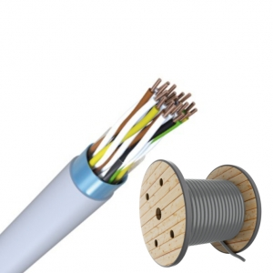 J-Y(ST)Y 100x2x0,6 TR500m Fernmeldeleitung grau Telefonkabel / ISDN Kabel