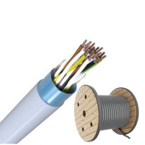 J-Y(ST)Y 10x2x0,6 TR500m Fernmeldeleitung grau Telefonkabel / ISDN Kabel
