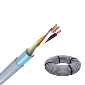 J-Y(ST)Y 2x2x0,8 RG100m Fernmeldeleitung grau Telefonkabel / ISDN Kabel