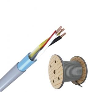 J-Y(ST)Y 2x2x0,8 TR500m Fernmeldeleitung grau Telefonkabel / ISDN Kabel