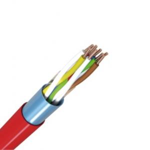 J-Y(ST)Y 4x2x0,8 Brandmeldekabel 1m Meterware rot
