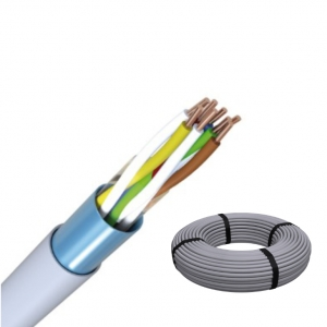 J-Y(ST)Y 4x2x0,8 RG100m Fernmeldeleitung grau Telefonkabel / ISDN Kabel