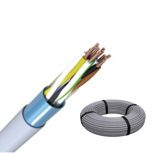 J-Y(ST)Y 6x2x0,6 Fernmeldeleitung grau Telefonkabel RG 100m / ISDN Kabel