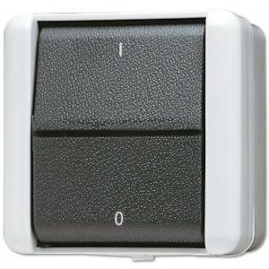 Jung AP-Schalter 802W 2polig