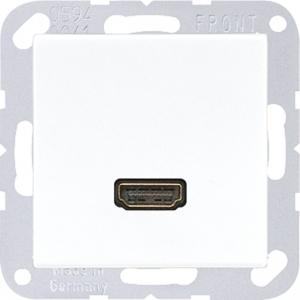 JUNG Multimediaanschlusssystem MAA1112WW