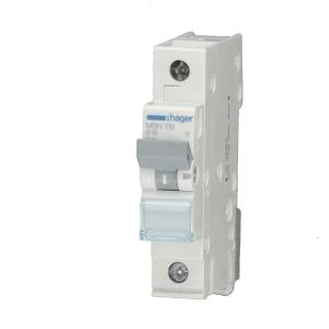Hager LS-Automat MCN106 1 polig C 6A