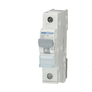 Hager LS-Automat MCN110 1 polig C 10A