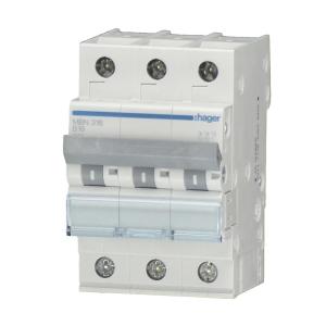 Hager LS-Automat MCN325 3 polig C 25A