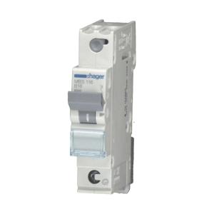 Hager LS-Automat MCS106 1 polig C 6A