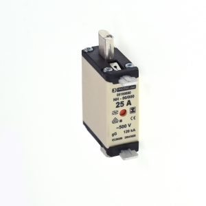NH-Sicherung (spannungsfr. Griffl.) PSI NH00 SF 25A