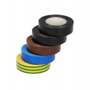 PVC-Isolierband 19mm Rollenmix bunt 20m