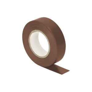 Orno Isolierband 19mm flammhemmend 20m Rolle braun OR-AE-13196/BR/20m