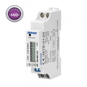 Orno Wechselstromzähler 40A OR-WE-521 mit MID