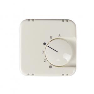 Abdeckung für Raumtemperaturregler 50x50 reinweiß glänzend